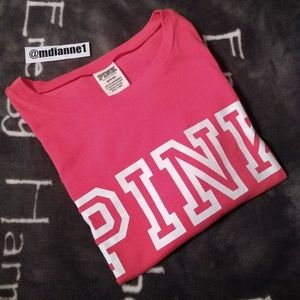 VS PINK Everyday Logo Tee.   PRICE FIRM!!!!